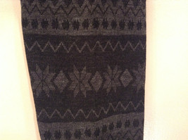 Howards Gray Snowflake Lined Leggings One Size Fits All New in Package image 5
