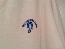 IZOD White V Neck 100 Percent Acrylic Long Sleeve Sweater Size Large No Tags image 3