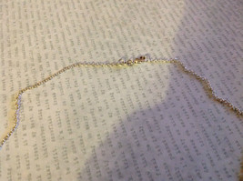 Grape Leaf Flat Ceramic Handmade Pendant Necklace Sterling Silver Chain image 4
