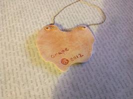 Grape Leaf Flat Ceramic Handmade Pendant Necklace Sterling Silver Chain image 5