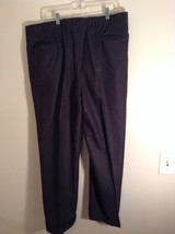 Gray Brooks Brothers Wool Pleated Front Dress Pants Waist 38 Inches image 3