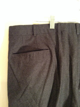 Gray Brooks Brothers Wool Pleated Front Dress Pants Waist 38 Inches image 5
