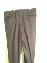 Gray Brooks Brothers Wool Pleated Front Dress Pants Waist 38 Inches image 6