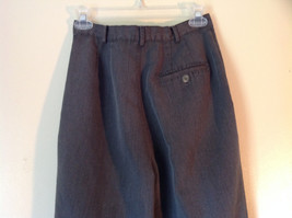 Gray Casual Pants Size 6 Crazy Horse Liz Claiborne One Back Pocket Belt Loops image 4