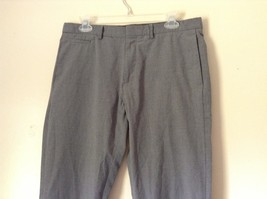 Gray Dress Pants by Calvin Klein Made in Egypt Size 30 by 32 Slim Fit image 2