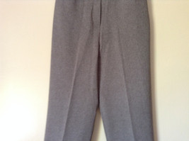 Gray Dress Pants by Levine Classics 100 Percent Polyester Size 8 image 3