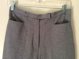Gray Dress Pants by Levine Classics 100 Percent Polyester Size 8 image 2