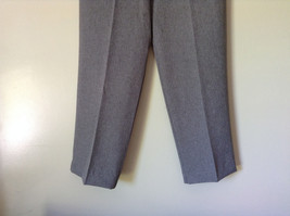 Gray Dress Pants by Levine Classics 100 Percent Polyester Size 8 image 4