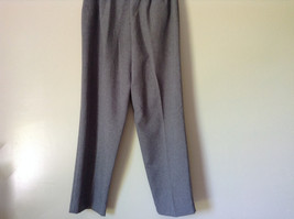 Gray Dress Pants by Levine Classics 100 Percent Polyester Size 8 image 9
