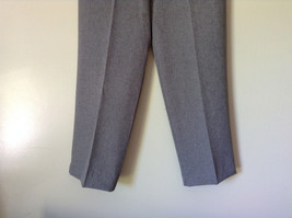 Gray Dress Pants by Levine Classics 100 Percent Polyester Size 8 image 5