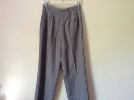 Gray Dress Pants by Levine Classics 100 Percent Polyester Size 8 image 10
