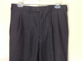 Gray Dress Pants by Louis Raphael Pure Laine Vierse All Pure Wool Size 31 image 2