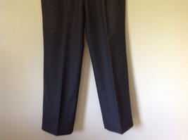 Gray Dress Pants by Louis Raphael Pure Laine Vierse All Pure Wool Size 31 image 3