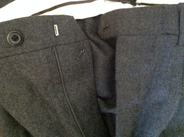 Gray Dress Pants by Louis Raphael Pure Laine Vierse All Pure Wool Size 31 image 7