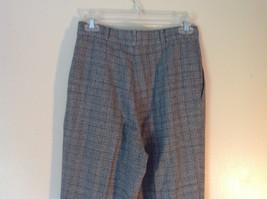Gray Pants by Samantha USA 50 Percent Polyester 50% Rayon Size 8 image 5