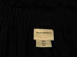 Isaac Mizrahi Black Pleated Skirt with Belt Size XXL Elastic Waist image 7