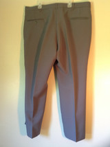Gray Pleated Dress Pants by Blair Front and Back Pockets Belt Loops Size 38S image 3