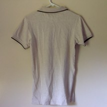 International Tour IZOD Club Beige with Black Accents Polo Shirt Size Small image 6