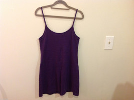 International Concepts Intimates Purple Plum 100% Cotton Night Gown Slip, Size M image 3