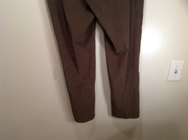 J McLaughlin Size 14 Dark Green Brown Side Zipper Closure Casual Pants USA image 7