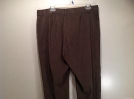 J McLaughlin Size 14 Dark Green Brown Side Zipper Closure Casual Pants USA image 6