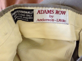 Grayish Colored Dress Pants by Adams Row by Anderson Little Measurements Below image 9
