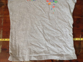 Gray Short Sleeve Shirt with Rainbow Design by Circo Size 6 to 6X image 4