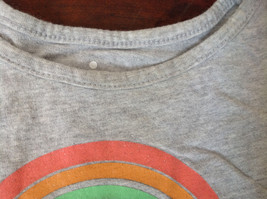 Gray Short Sleeve Shirt with Rainbow Design by Circo Size 6 to 6X image 5