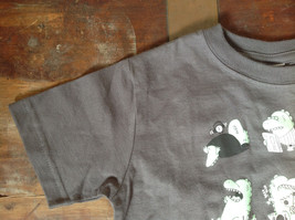 Gray Toddler T-Shirt with Green Dinosaurs from Threadless Kids Size 3T image 3