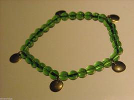 Green Glass Beaded Bracelets image 2