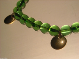 Green Glass Beaded Bracelets image 3