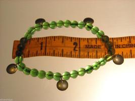 Green Glass Beaded Bracelets image 6