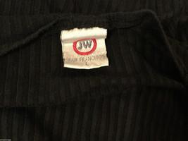 Japanese Weekend (JW) Maternity Black Stretchy Long Sleeve Blouse, Size L image 5