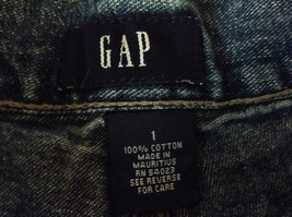Jean Shorts by GAP 100 Percent Cotton Two Front Pockets Size 1 image 3