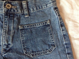 Jean Shorts by GAP 100 Percent Cotton Two Front Pockets Size 1 image 2