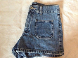 Jean Shorts by GAP 100 Percent Cotton Two Front Pockets Size 1 image 5