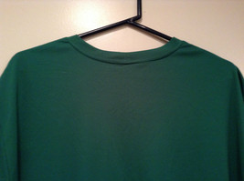Green Nike Short Sleeve Sport Jersey 100 Percent Polyester Size L to XL No Tag image 2