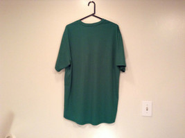 Green Nike Short Sleeve Sport Jersey 100 Percent Polyester Size L to XL No Tag image 5