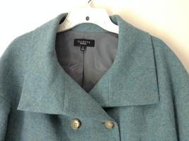 Green Three Quarter Length Sleeves Blazer Jacket from Talbots Size 4 image 2
