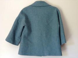 Green Three Quarter Length Sleeves Blazer Jacket from Talbots Size 4 image 4