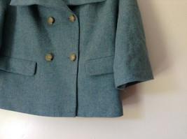 Green Three Quarter Length Sleeves Blazer Jacket from Talbots Size 4 image 3