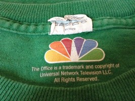 Green T Shirt Dunder Mifflin Inc Paper Company 100 Percent Preshrunk Cotton image 4