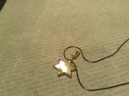 Judaica Sterling Silver Star of David Secret Garnet Gold Plated Bird Necklace image 4