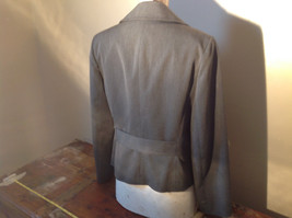 Josephine Chaus Gray Stripped Formal Jacket Blazer One Front Pocket Size 10 image 7