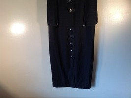 Julian Taylor Long Black Dress with Short Sleeve Jacket Attached One Piece image 3
