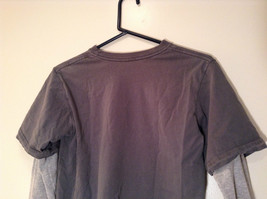Kenneth Cole Reaction Gray Long Sleeve Graphic Shirt Size M 100 Percent Cotton image 6