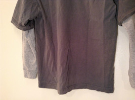 Kenneth Cole Reaction Gray Long Sleeve Graphic Shirt Size M 100 Percent Cotton image 7