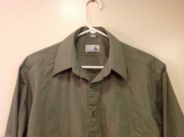 Ketch Khaki Long Sleeve Classic Shirt, Size 16 (32/33) image 3