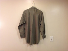 Ketch Khaki Long Sleeve Classic Shirt, Size 16 (32/33) image 2