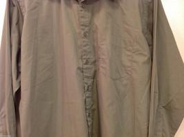 Ketch Khaki Long Sleeve Classic Shirt, Size 16 (32/33) image 4